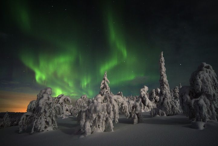 Kakslauttanen, Finland