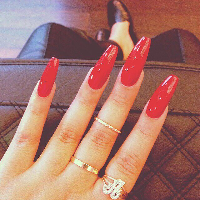 The 149 best N a i l s images on Pinterest | Long nails, Coffin ...