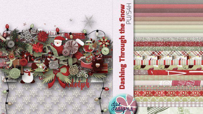 Dashing Through the Snow by Dae Designs