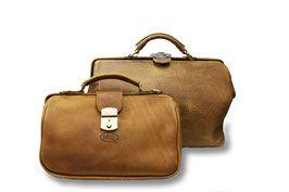 de Assistente & de Dokterstas Handgemaakte leren tas, gemaakt in onze eigen atelier.