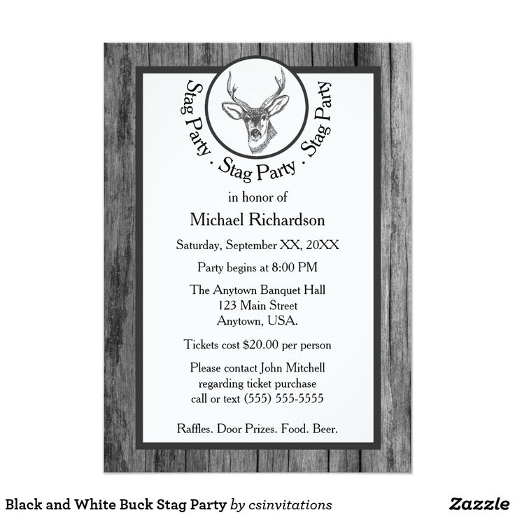 17 Best images about Bachelor Party Invitations and Gifts on – Stag Party Invites