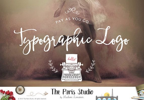 Custom #LogoDesign #TypographicLogo #wordpress #Website #Blog #ecommerce #branding