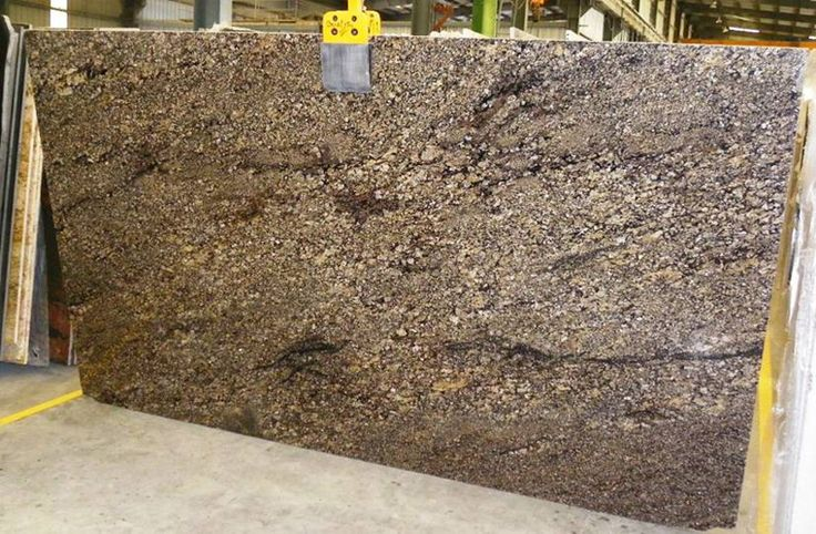Coral Gold Slab - Granite for the Kitchen!