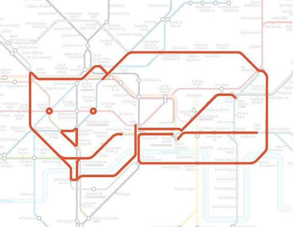 1000 images about Maps Animals in the London Underground on – Real London Underground Map