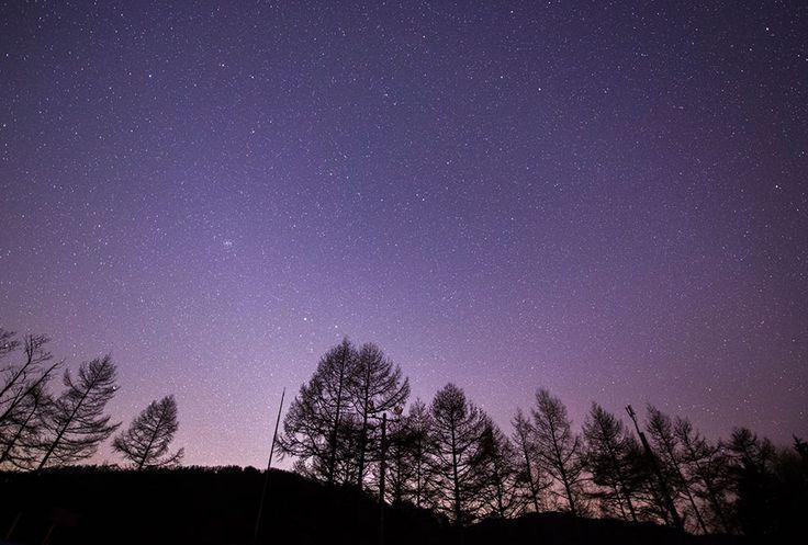 阿智村の星空/長野県 日本は美しい!次の連休で絶対行きたい日本の絶景20選