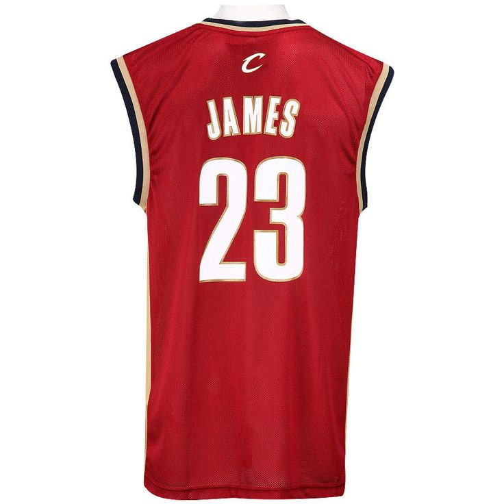LeBron James Cleveland Cavaliers | Camiseta adidas Cleveland Cavaliers Lebron James