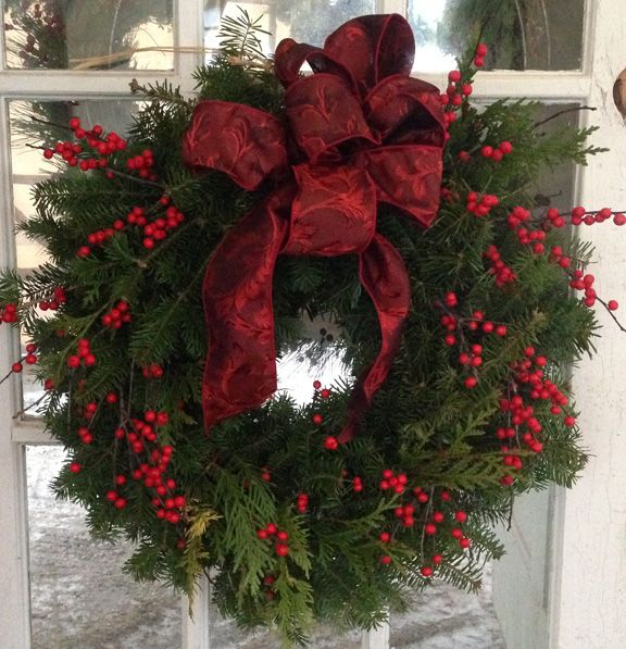 ....love this simple wreath!