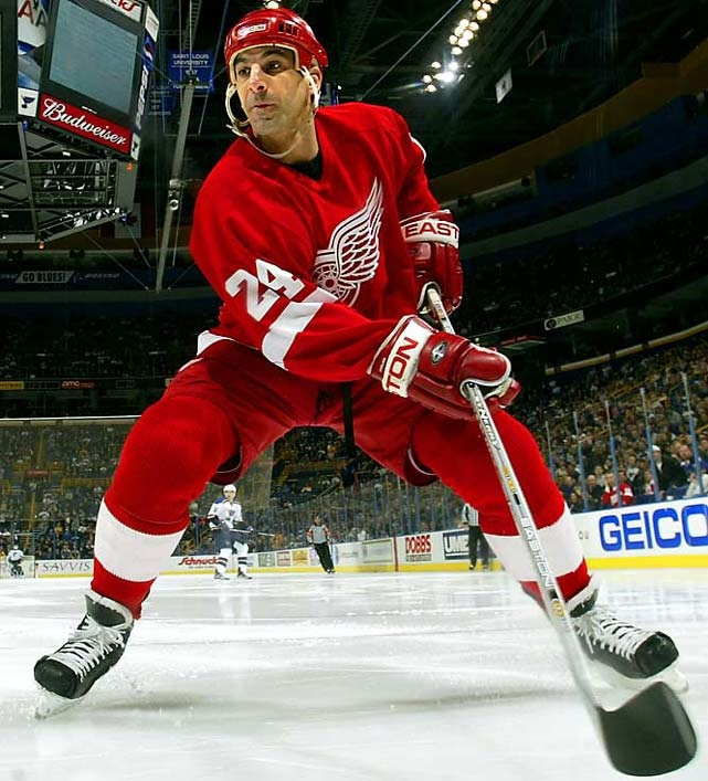Chris Chelios - ...thought he'd never go quietly into that good night, but he finally did at 48, as the longest-tenured blueliner (26 seasons) in NHL history, taking his three Norris trophies and three Stanley Cups with him.