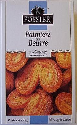 Biscuits Fossier - Biscuits Fossier-Palmier Mini Elephant Ears