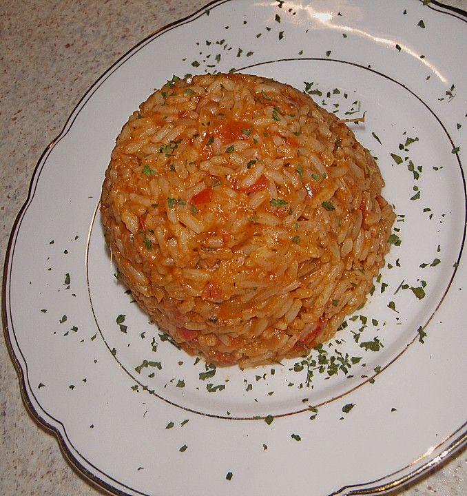 Griechischer Tomatenreis, ein gutes Rezept aus der Kategorie Vegetarisch. Bewertungen: 359. Durchschnitt: Ø 4,4.