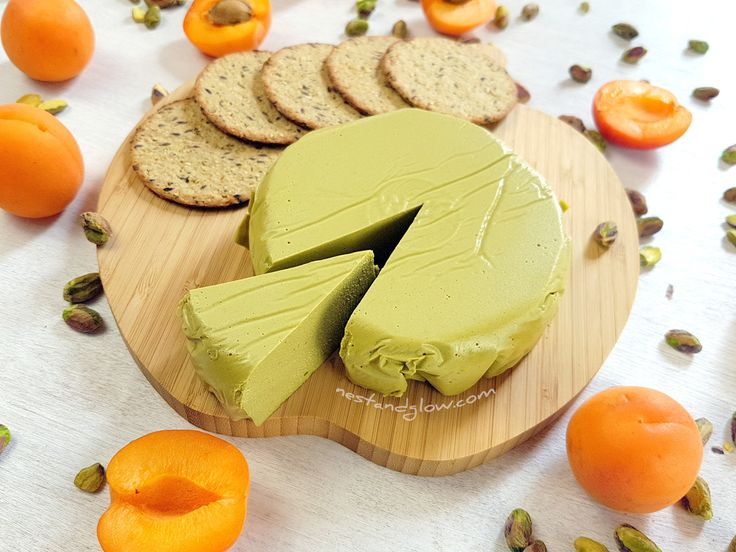 This quick recipe for dairy-free Pistachio Nut Cheese is easy and foolproof. It slices, grates and will go golden brown when grilled. The only difficult part is not eating the pistachio nuts as they are! However it's better to make this cheese than just eat the pistachio nuts as they are sproutedmeaning the goodness and …