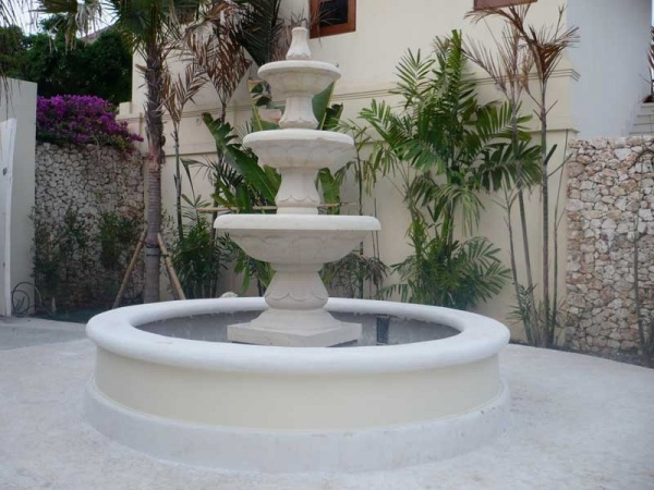 backyard fountains