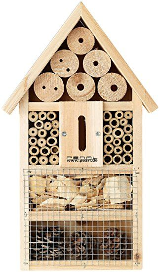 PEARL Insektenhotel-Bausatz, Nistkasten und Schutz für Nützlinge