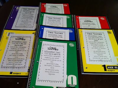Whole Class Journals: Get your kids writing across all genres for the entire year with my 5 sets of Whole Class Journals.  The students will love this weekly activity for center time and it is amazing to see the growth in their writing over the year.