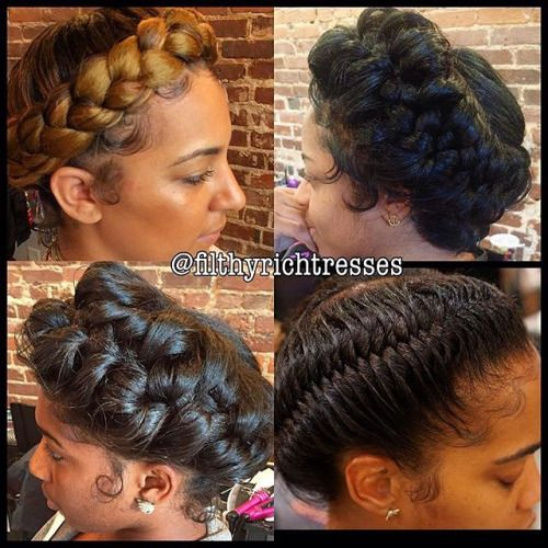 Hairstyles Halo Braid : ... Halo Braid on Pinterest Braids, Protective Styles and Hairstyles