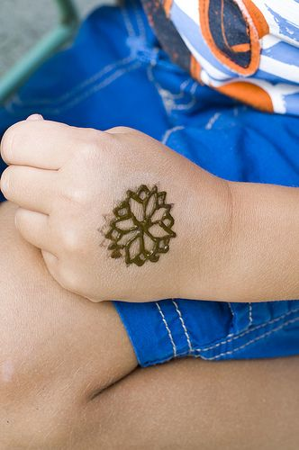 Simple Henna Designs for Kids