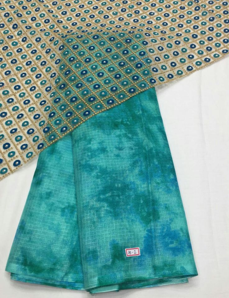 Silky chiffon Sarees with braso design on the Saree and patch border Blouse net fabric designed
