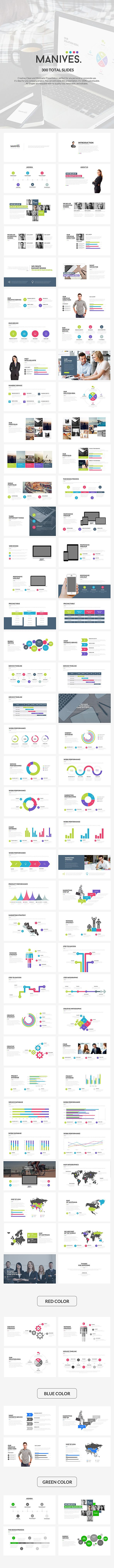 Manives Powerpoint Template #1920x1080 #corporate #infographics • Click here to download ! http://graphicriver.net/item/manives-powerpoint-template/10961294?s_rank=435&ref=pxcr