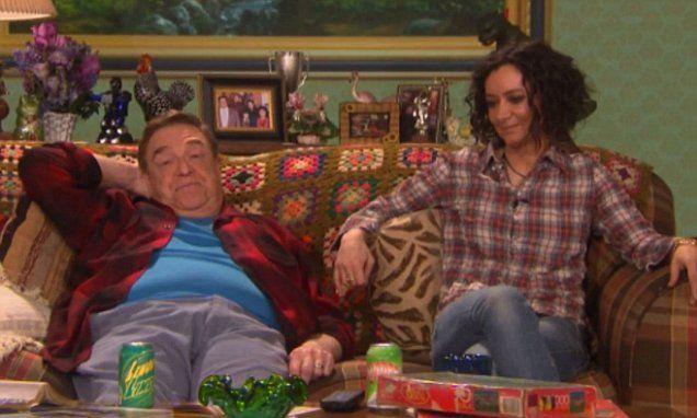 John Goodman reunites with Sara Gilbert for hilarious Roseanne sketch