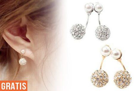 Pearl Chique oorbellen | Bestel nu een set van 2 paar GRATIS! #vouchervandaag #chique #stijlvol #comfortabel #feestelijk #goud #zilver