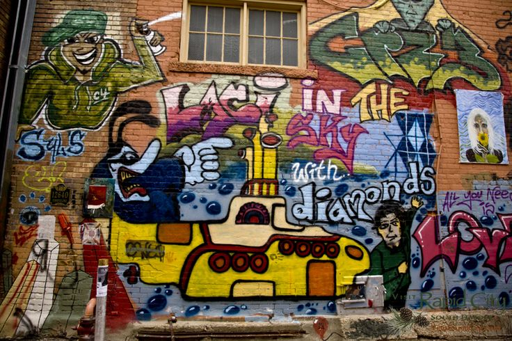 #ArtAlley in #DowntownRC