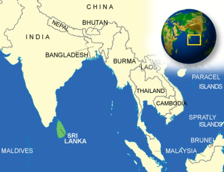 Sri Lanka Facts, Culture, Recipes, Language, Government, Eating, Geography, Maps, History, Weather, News, Economy, Family, Fashion, Events - CountryReports