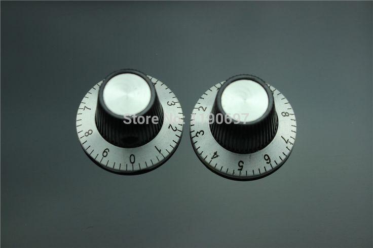 Bakelite knob potensiometer tombol Digital kalibrasi tombol 24 MM * 14.5 MM Bore 6.0 MM 4 PCS Gratis Pengiriman