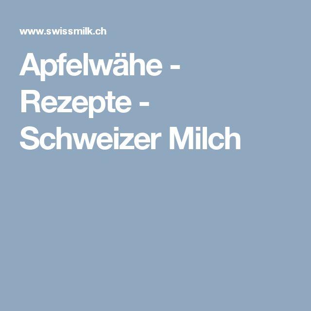 Apfelwähe - Rezepte - Schweizer Milch
