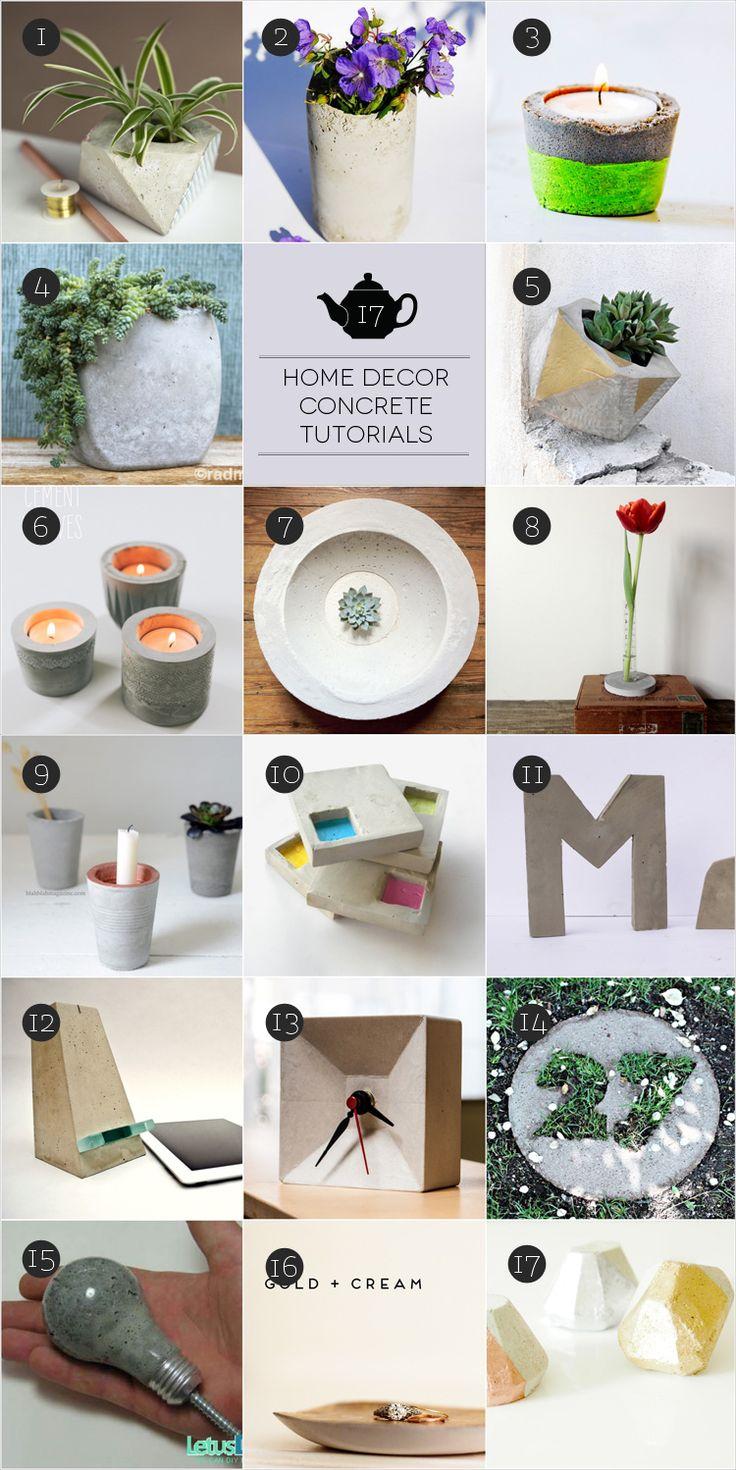 March Craft: Be Concrete! #diy #craft