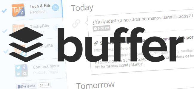 Buffer, una aplicación para administrar todas tus redes sociales