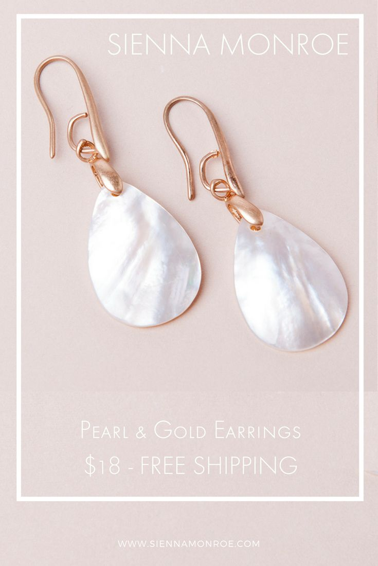 Totally on-trend, these bold vintage style earrings will be the envy of the twin set and pearl posse. ✨ Sienna Monroe sells affordable boho fashion jewelry with an edgy elegance.
