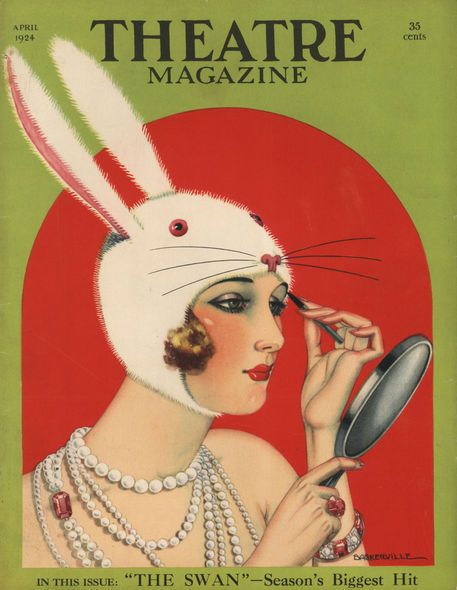 'Theatre Magazine, 1924' by Advertising Archives on artflakes.com as poster or art print $17.33