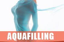 Aquafilling ile Göğüs Büyütme, Popo Büyütme, Bacak Kalınlaştırma Ameliyatsız göğüs büyütme yöntemleri arasında geçmişte kullanılan dolgu maddeleri hem pahalı, hem asimetrik erime gösteren, hem 1-2 yıl etkili ürünlerdi. Ama şu anda kullanılan aquafilling farklı ve başarılı bir ürün olduğu için kısaca bilgi verelim. Aquafilling göğüs büyütmede, popo büyütmede,