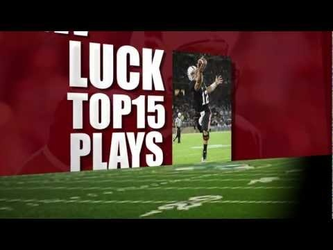 Andrew Luck: Top 15 Stanford Plays--hes such a beast!