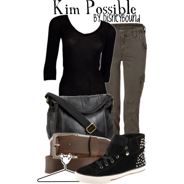 """Not that I really like this outfit, but I miss KP! """"Kim Possible"""" by lalakay on Polyvore"""