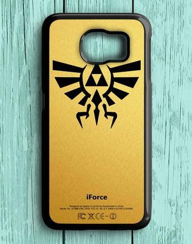 Zelda Triforce Gold Samsung Galaxy S6 Case