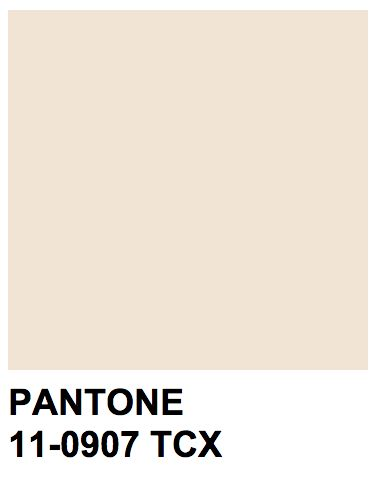 Pantone 11-0907 TCXPearled Ivory