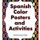 The Spanish Posters and Activities are great for the beginning of the school year!  They will provide the students with a lot of practice to enhance their vocabulary and encourage them to explore their colors in Spanish.  Included in this unit are vocabulary, posters, flashcards, games, and worksheets.