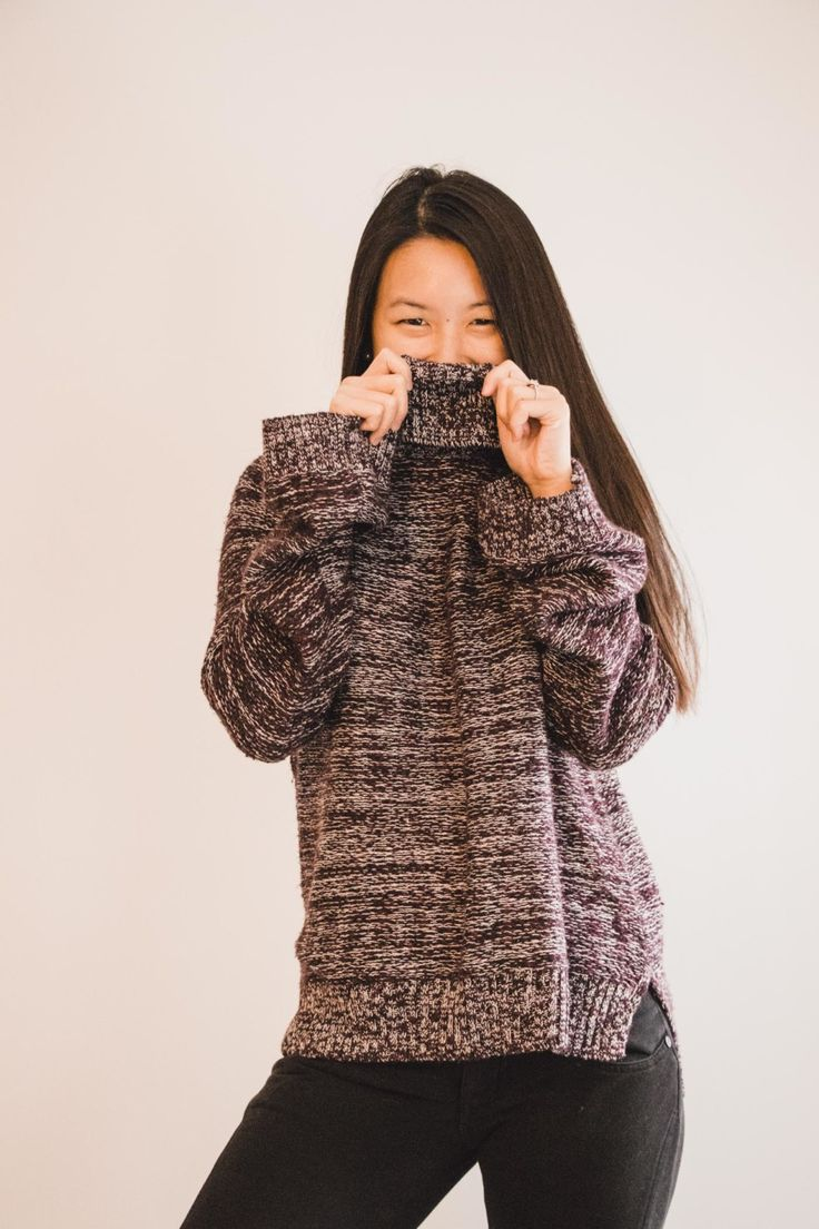Classic Chunky Turtleneck Sweater from Hollister, Fashion, Style, #ootd - Simply Lovebirds