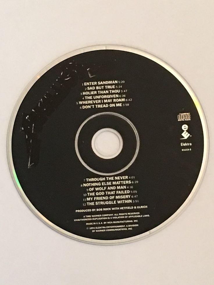 Metallica Black Album Enter Sandman CD - Mercari: BUY & SELL THINGS YOU LOVE