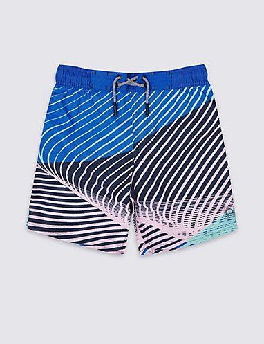 5f616e5926 Swim Shorts with Sun Smart UPF50+ (3-16 Years)   Swimwear   Marks and  Spencer AU