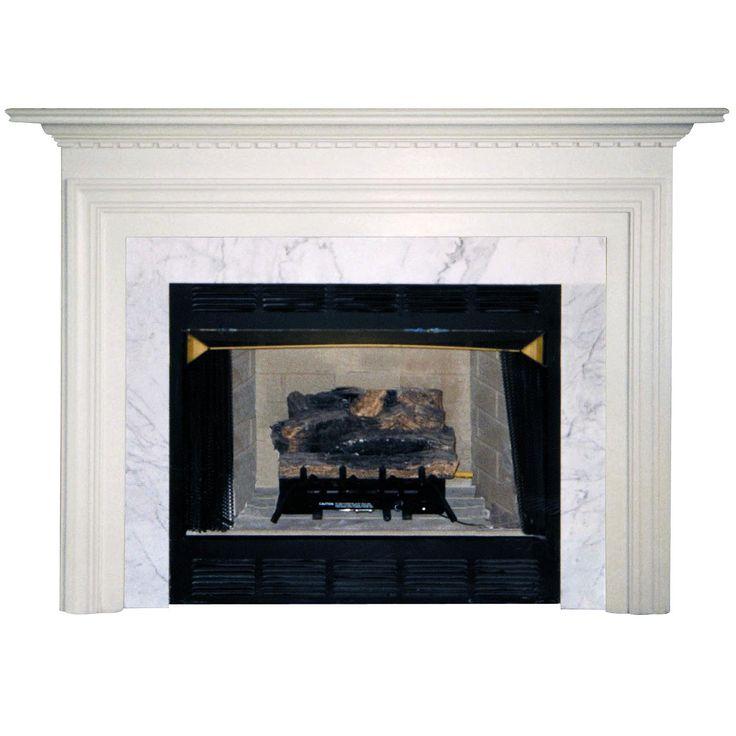Wood Fireplace Mantel Surround Part - 21: Agee Woodworks Normandy Wood Fireplace Mantel Surround   From Hayneedle.com