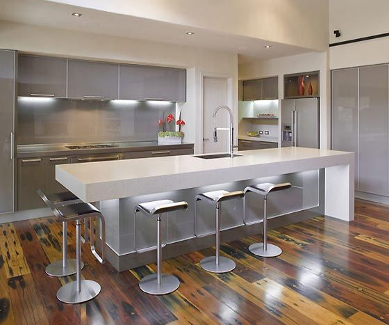 Modern Kitchen Design In Grey Season Ideas