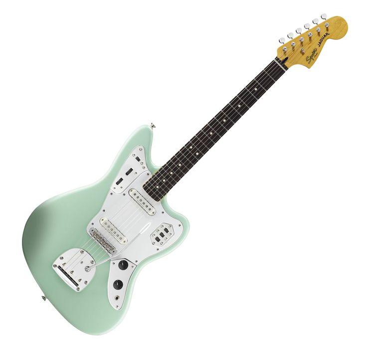 Fender Squier Vintage Modified Jaguar RW SG  #E-Gitarre #Gitarre #Guitar #Musik #Instrument