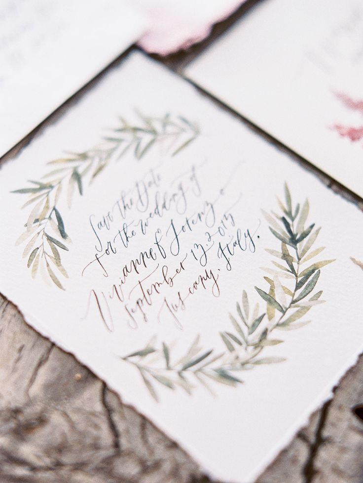 Photography: Sally Pinera   sallypinera.com Calligraphy: Wildfield Paper Co.   wildfieldpaperco.com   View more: http://stylemepretty.com/vault/gallery/36138