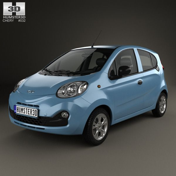 Chery QQ 2013 3d model from humster3d.com