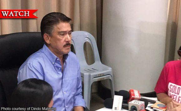Senator Tito Sotto wants discounts and benefits for solo parents