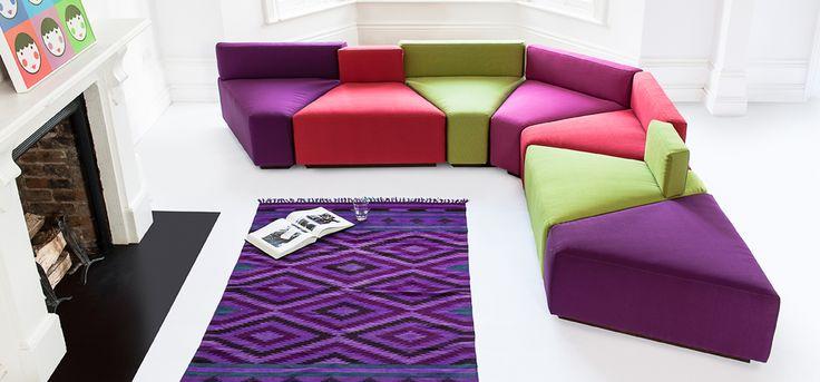 Bespoke sofa London- Cheese cake sorner sofa. :)