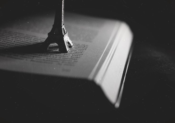 #eiffeltower #blackandwhite #picture #book