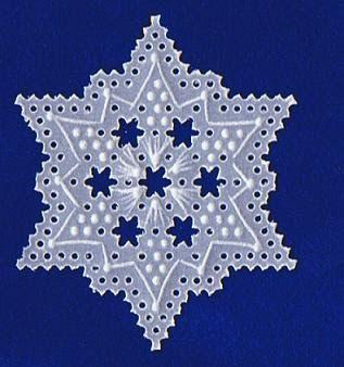 Diese kleinen Sternchen bzw. Flöckchen (ca. 3 cm) habe ich selbst entworfen und für Sie eine freie Vorlage mit einer ausführlichen Beschreib...